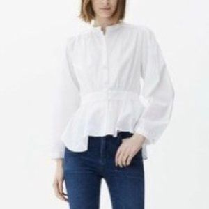 CITIZENS OF HUMANITY Margaux Blouse  White S